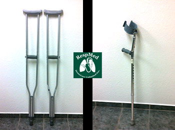 RespMed Crutches Product Picture