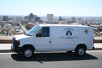 RespMed Home Medical Equipment Delivery Van